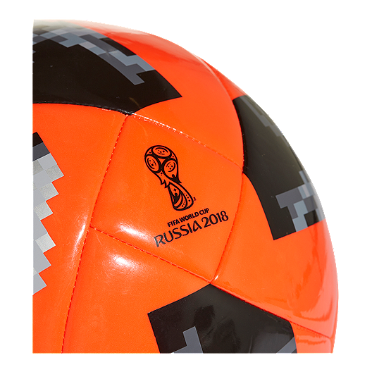 a74ac66e3a4 adidas World Cup 2018 Glider Size 4 Soccer Ball - Solar Red Black ...