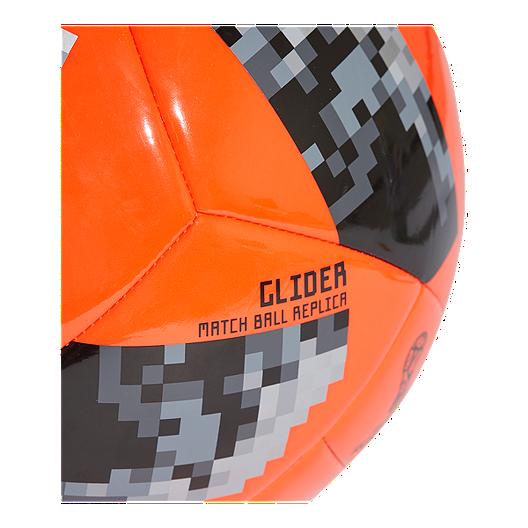 aa6fb28ec07 adidas World Cup 2018 Glider Size 4 Soccer Ball - Solar Red Black. (0).  View Description