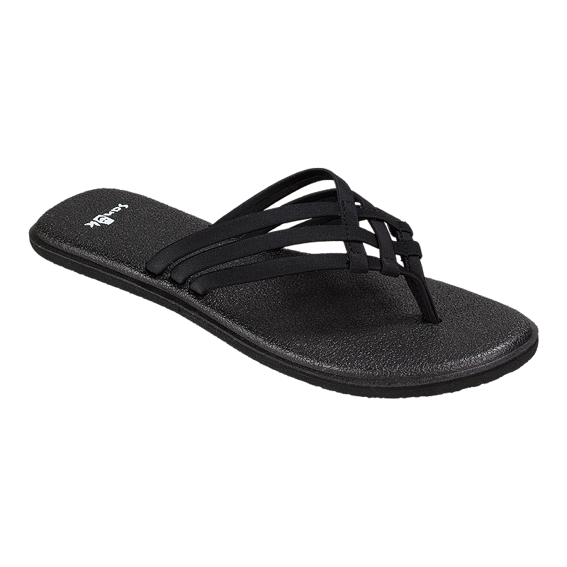 0aa565747abfda Sanuk Women s Yoga Salty Sandals - Black
