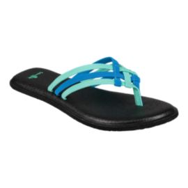 Sanuk Women's Yoga Salty Sandals - Opal/Indigo