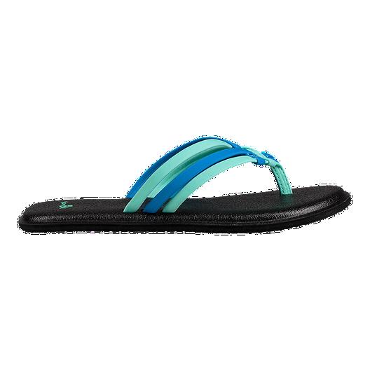 f1ff25268 Sanuk Women s Yoga Salty Sandals - Opal Indigo