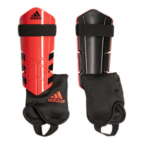 adidas Ghost Club Soccer Shin Guard - Real Coral/Core Black