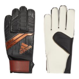 adidas Ace 18 Young Pro Goalkeeper Gloves - Black/Copper Gold/Solar Red