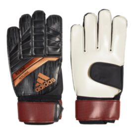 adidas Ace 18 Replique Goalkeeper Gloves - Black/Solar Red/Copper Gold