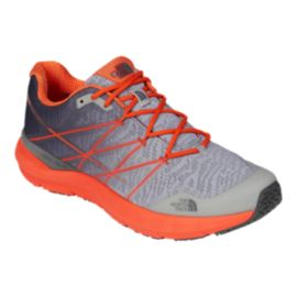 The North Face Men's Ultra Cardiac II Trail Running Shoes - Grey/Red