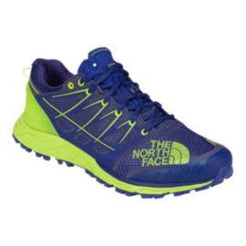 The North Face Men's Ultra Endurance II Trail Running Shoes - Blue/Lime Green