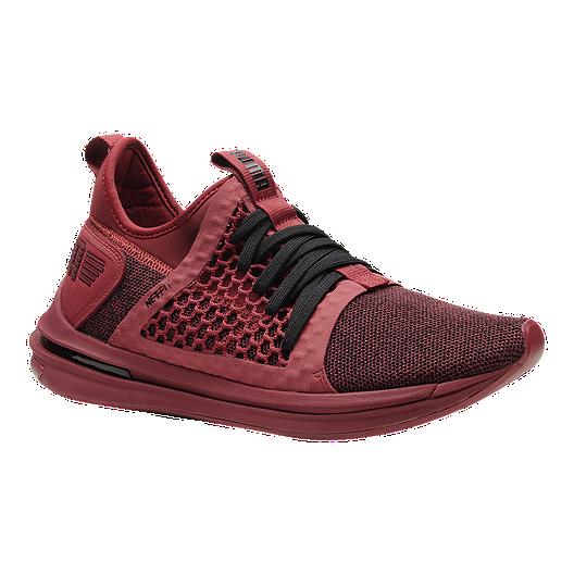 wholesale dealer fb4db 9861f PUMA Men's Ignite Limitless SR Netfit Shoes - Red Dahlia ...