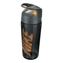 Nike 16 oz Hypercharge Straw Bottle - Anthracite/Orange
