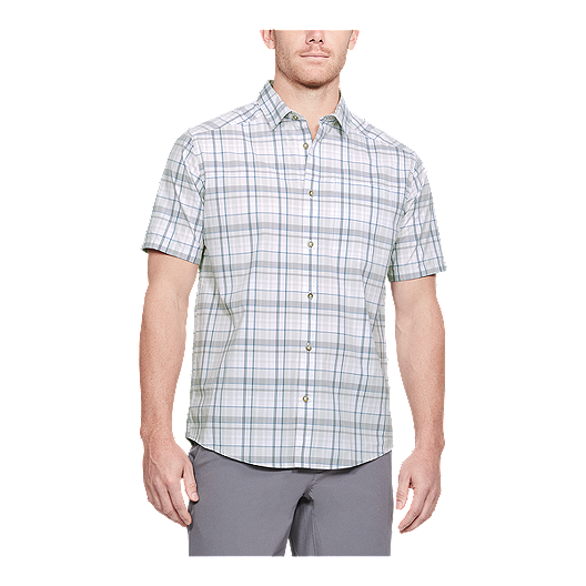 b5e088dd69 Under Armour Men's Legacy Plaid Short Sleeve Shirt - White