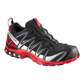 Salomon Men's XA Pro 3D GTX Trail Running Shoes - Black/Red/White