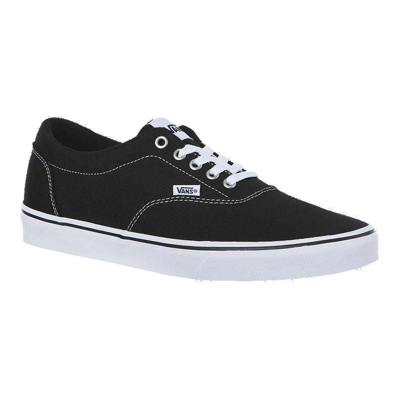 51aa09ea5538 Vans Men s Doheny Canvas Shoes - Black White