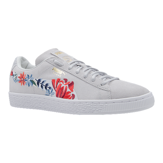 0a84dbabee7 PUMA Women's Suede Classic 50 Shoes - Floral | Sport Chek