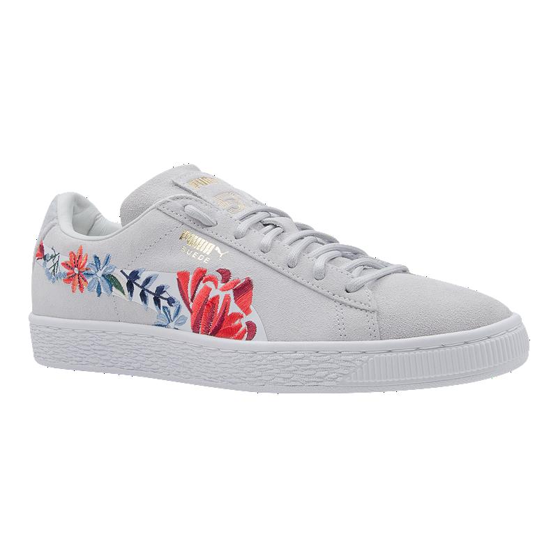518989d21408 PUMA Women s Suede Classic 50 Shoes - Floral