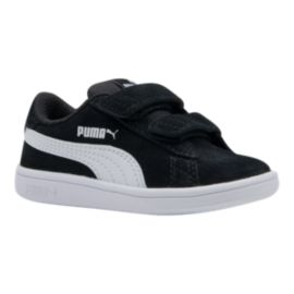 PUMA Toddler Boys' Smash V2 Shoes - Black