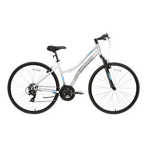 Nakamura Royal 700C Women's Hybrid Bike 2018 - Silver