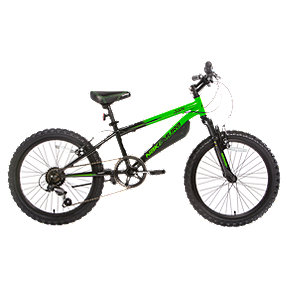 Nakamura Juvy 20 Junior Mountain Bike 2018 - Black/Green