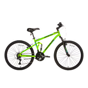 Nakamura Monster 24 DS Junior Boys' Full Suspension Mountain Bike 2018 - Green