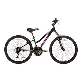 Nakamura Pristine 24 Junior Girls' Mountain Bike 2018 - Black/Purple