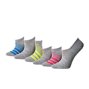 40c60a16b adidas Women's Superlite No Show Socks - 6-Pack