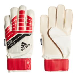 adidas Ace 18 Junior Fingersave Goalkeeper Gloves - Real Coral/Grey/Core Black