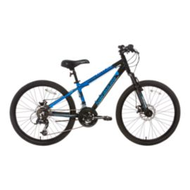 Nakamura Havoc 24 Junior Mountain Bike 2018 - Black/Blue