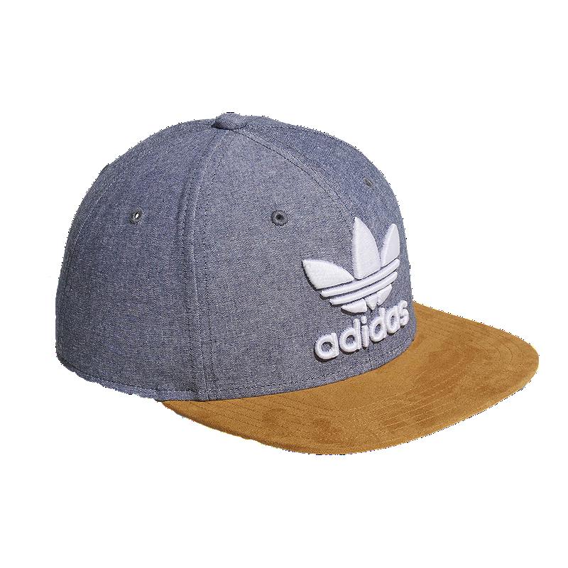 bc79ae8087c adidas Men s Original Trefoil Plus Snapback Hat