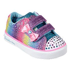 b6437a188cd98c image of Skechers Toddler Girls  Twinkle Breeze 2.0 Shoes - Multi-colour  Sparkle
