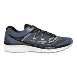 Saucony Men's Triumph ISO 4 Wide Width Running Shoes - Grey/Black