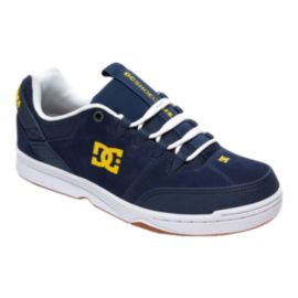 DC Men's Syntax Skate Shoes - Navy/White