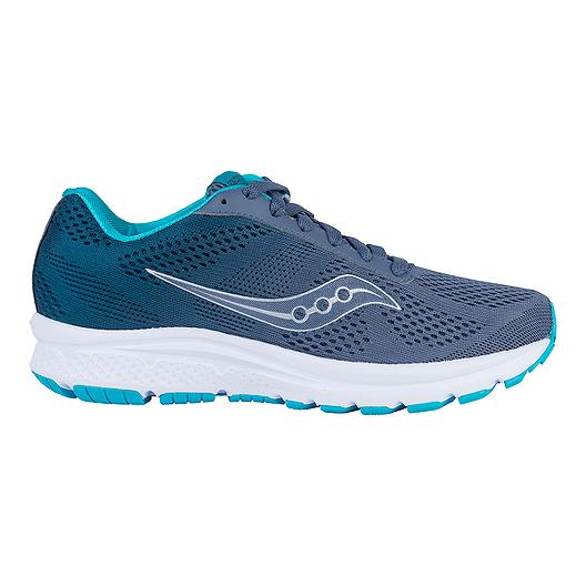 75137b30 Saucony Women's Grid Nova Running Shoes - Grey/Teal