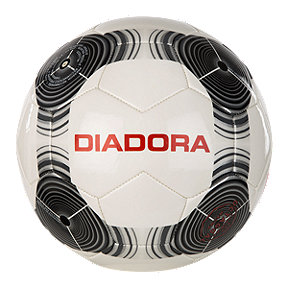 Diadora Pro Training Size 5 Soccer Ball - White/Black