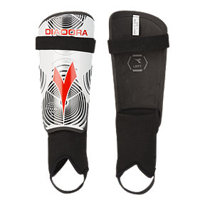 Diadora Pro Training Shin Guard - White/Black