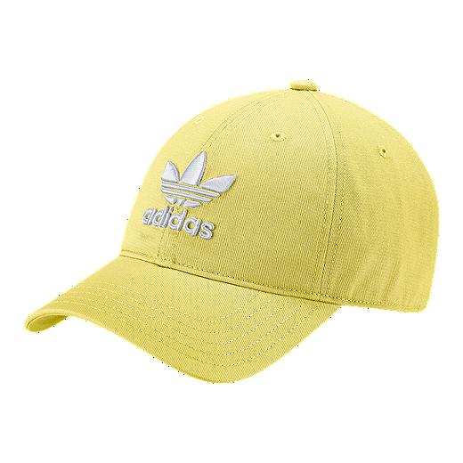 6a98c8b89f1912 ... where can i buy adidas originals womens trefoil hat yellow intense  lemon white b51ce 1ec34