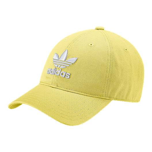 aa7bbbba7 adidas Originals Women's Trefoil Hat - Yellow | Sport Chek