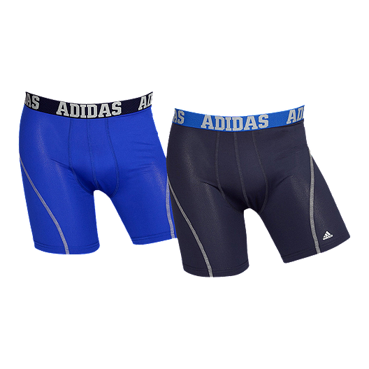 adidas Men's Sport Performance Climalite Boxer Brief 2 Pack