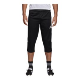 adidas Men's Tiro 17 3/4 Pant - Black/White