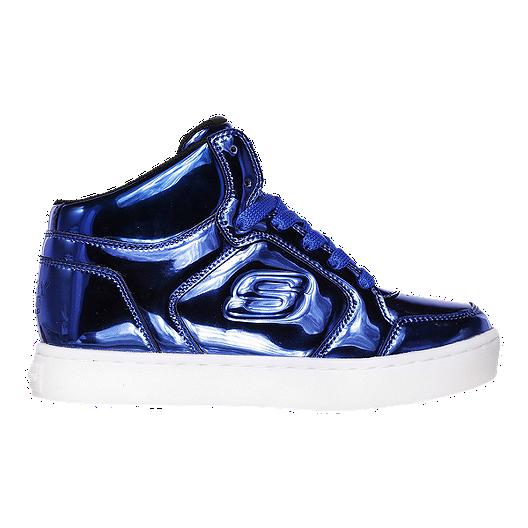 premium selection c9d70 91749 Skechers Kids  Energy Lights Elliptic Shoes - Blue White
