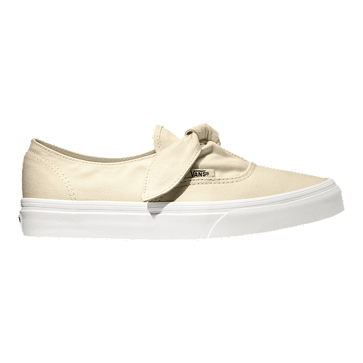 1614876e0e Vans Authentic Knotted Canvas Shoes - Marshmallow