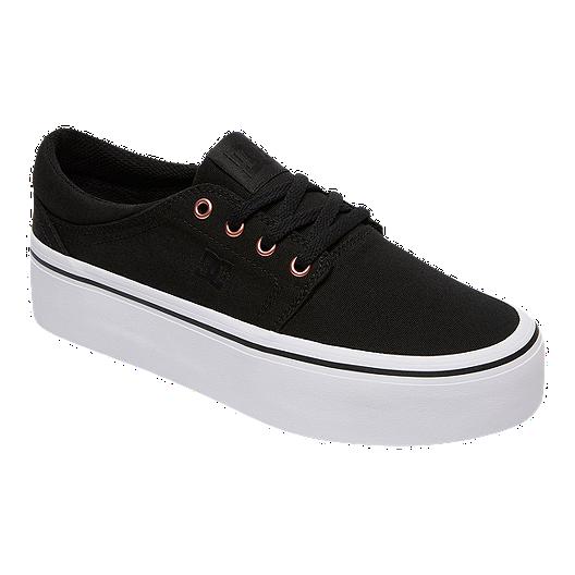 ad5e740773 DC Women's Trase Platform TX SE Skate Shoes - Black/Gold | Sport Chek