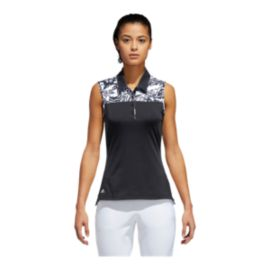 adidas Golf Women's Ultimate365 Merch Sleeveless Polo Shirt