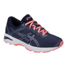 ASICS Girls' GT-1000 6 Grade School Shoes - Indigo/Coral