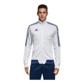 adidas Men's Tiro 17 Training Jacket - White