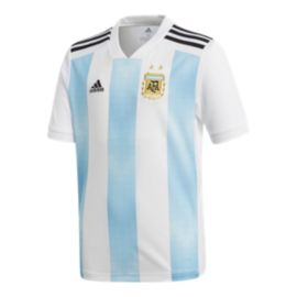 adidas Argentina Kids' 2018 Home Soccer Jersey