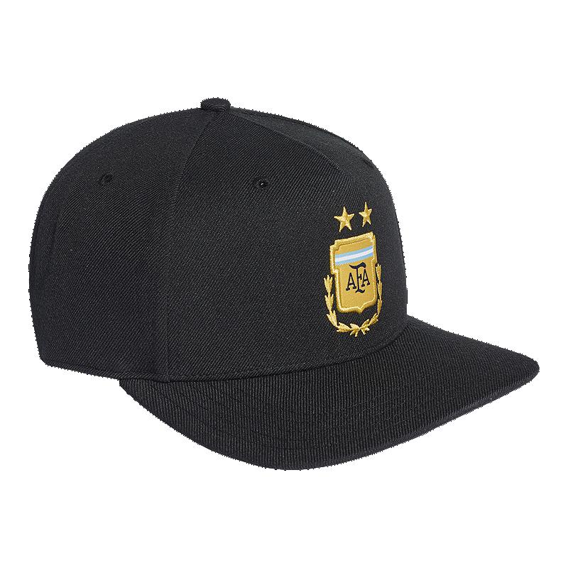 adidas Men s Argentina Away Flat Brim Hat  10b6976ce5d4