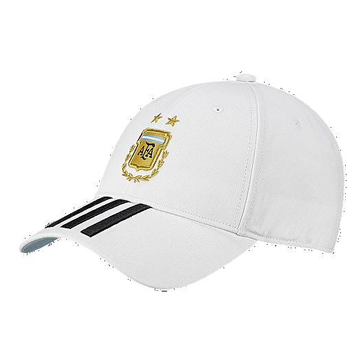 c381567fbce adidas Men s Argentina 3 Stripes Hat
