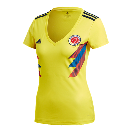 timeless design 6e9c4 fd443 adidas Colombia Women's 2018 Home Replica Soccer Jersey ...