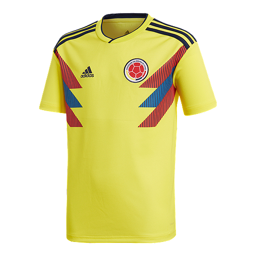 47ae85e6f3fb adidas Colombia Kids  2018 Home Replica Soccer Jersey