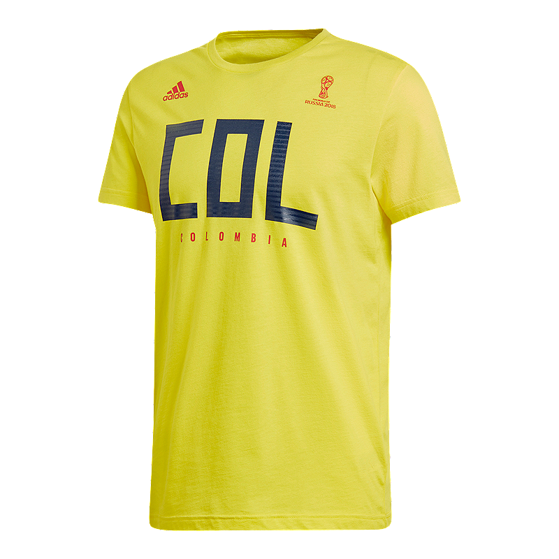 Adidas Shirt Men's T Colombia Chek Fan Sport qArgfHqxw