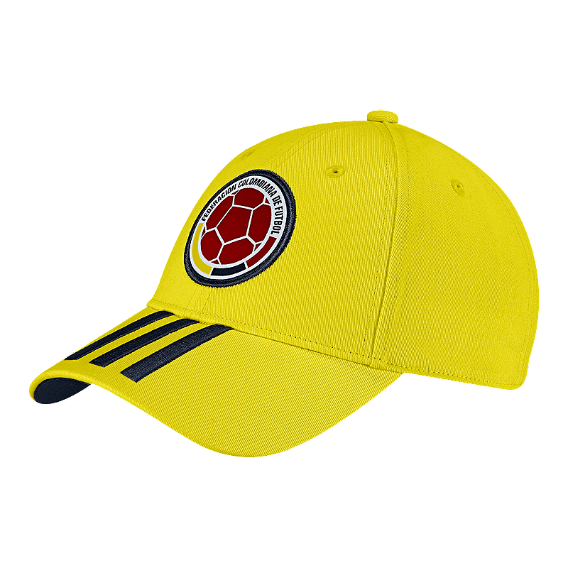 adidas Men s Colombia 3 Stripe Hat  8fe584a3d35