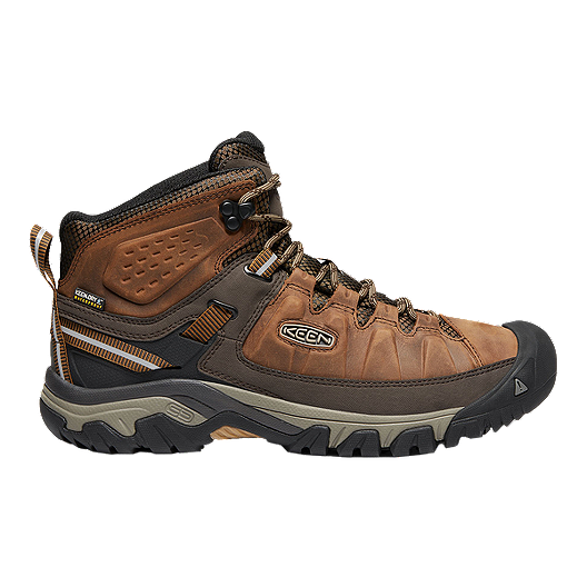 b0645ad6a22f Keen Men s Targhee III Mid Waterproof Hiking Boots - Big Ben Golden Brown